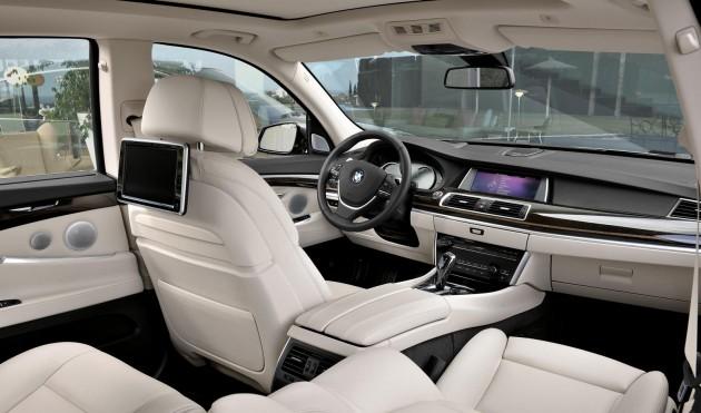 2014 BMW 5 Series GT-interior