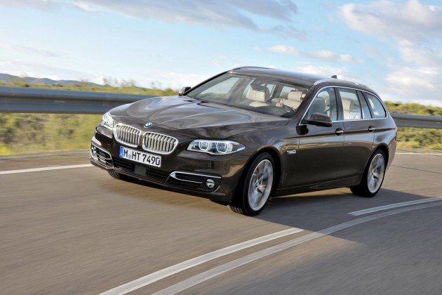 2014 BMW 5 Series Touring-front