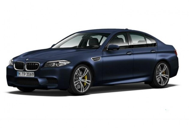 2014 BMW M5 front