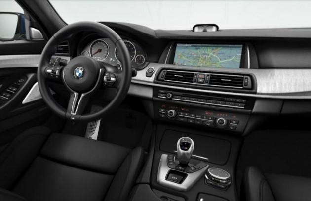 2014 BMW M5 interior