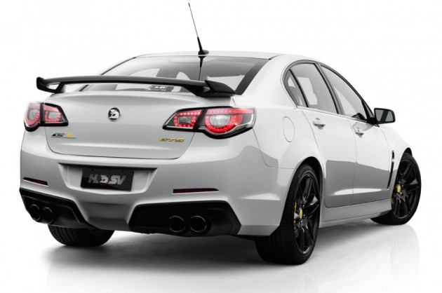 2014 HSV GTS rear