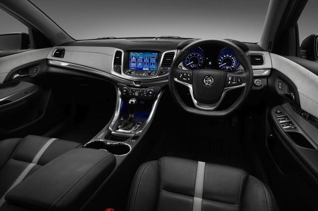 2014 Holden Caprice V interior