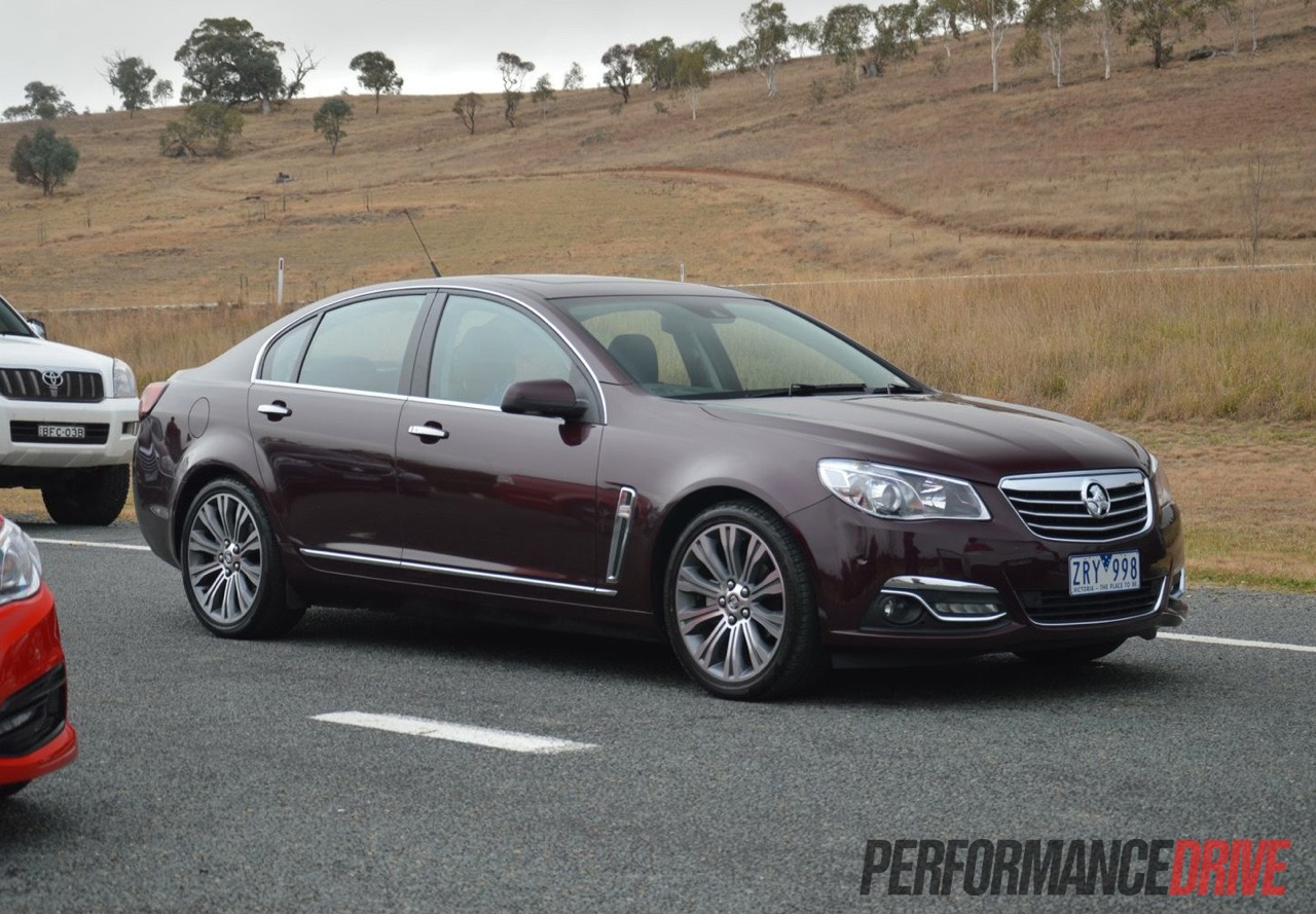 2014 holden vf commodore review australian launch video 2014 holden vf calais v performancedrive vanachro Images