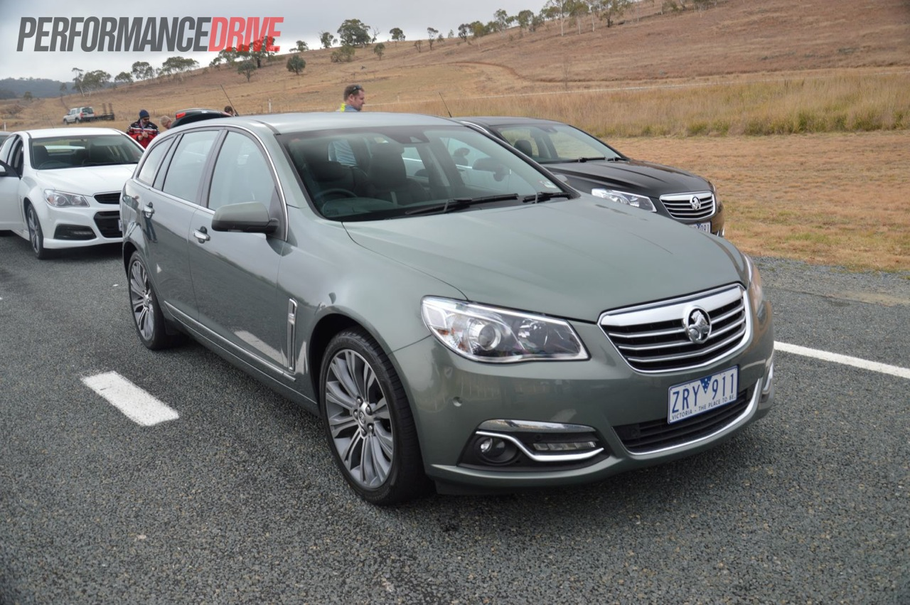 2014 holden vf commodore review australian launch video 2014 holden vf calais v wagon vanachro Images
