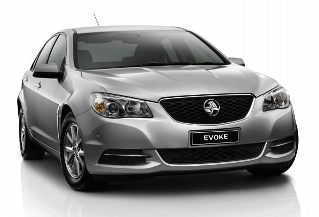 2014 Holden VF Commodore Evoke-Nitrate silver-