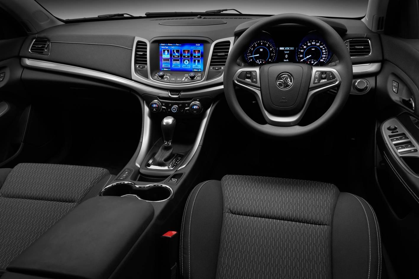 2014 Holden Vf Commodore Evoke Interior