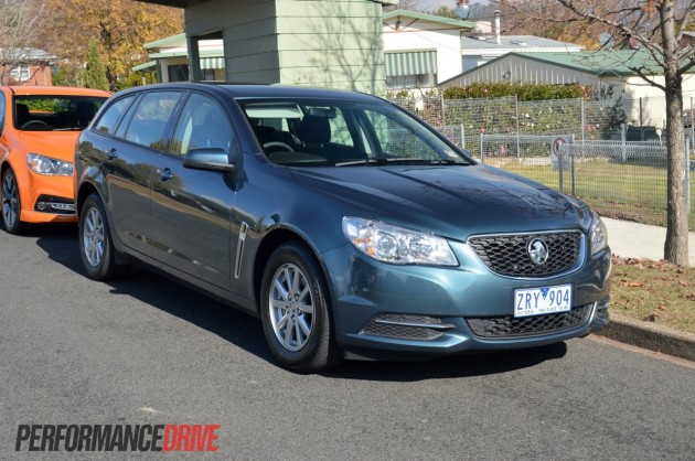 2014 Holden VF Commodore Evoke wagon-front
