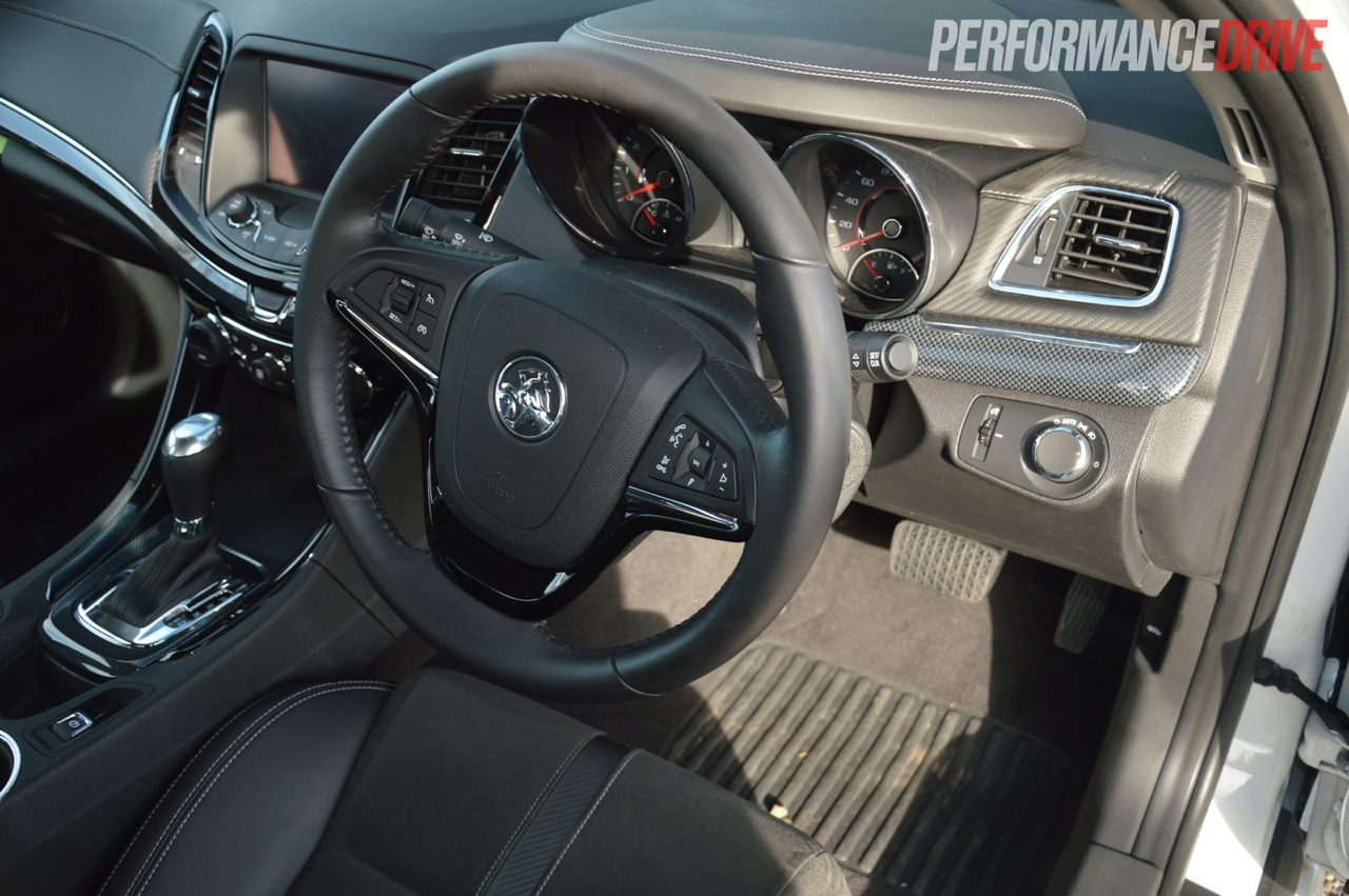 2014 Holden Vf Commodore Ss Interior