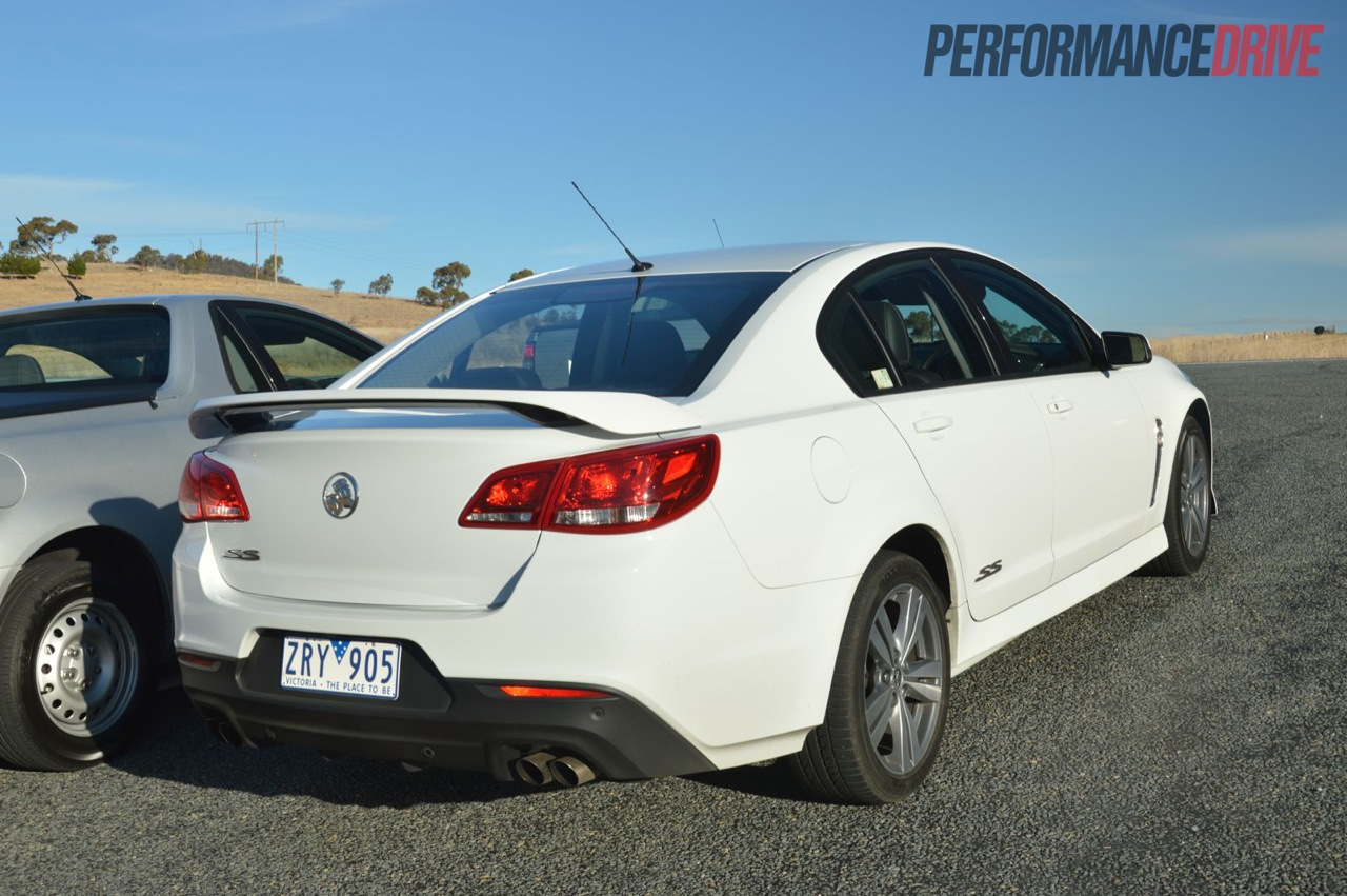 2014 holden vf commodore review australian launch video 2014 holden vf commodore ss rear vanachro Gallery