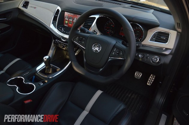 2014 Holden VF Commodore SSV Redline-interior