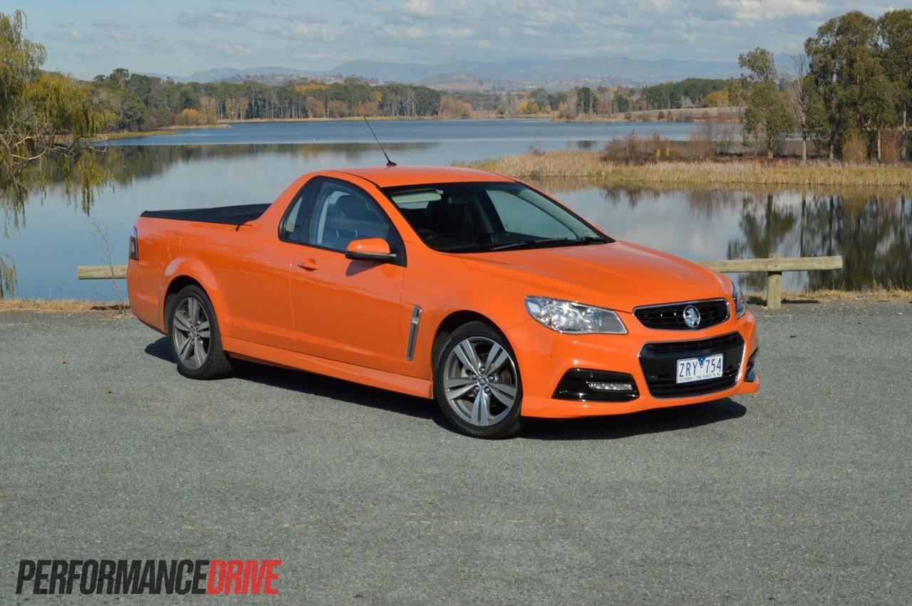 2014 holden vf commodore review australian launch video 2014 holden vf commodore sv6 ute fantale orange vanachro Choice Image
