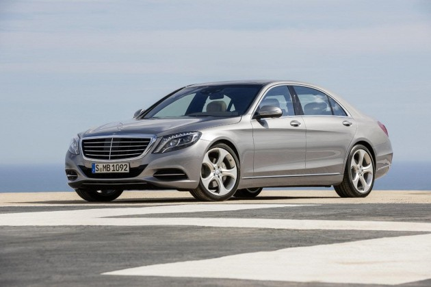 2014 Mercedes-Benz S-Class silver
