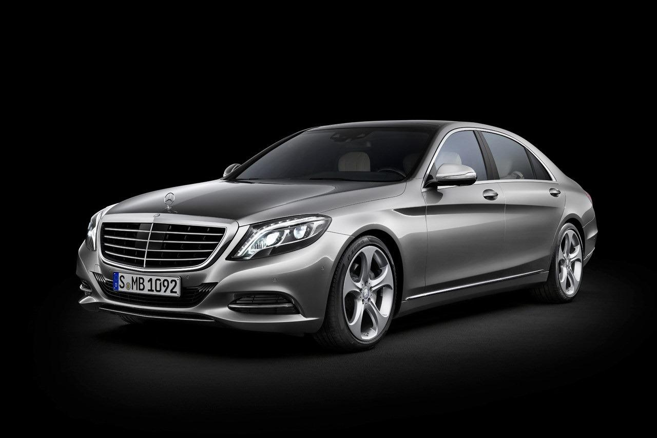 2014 mercedes benz s class silver front. Black Bedroom Furniture Sets. Home Design Ideas