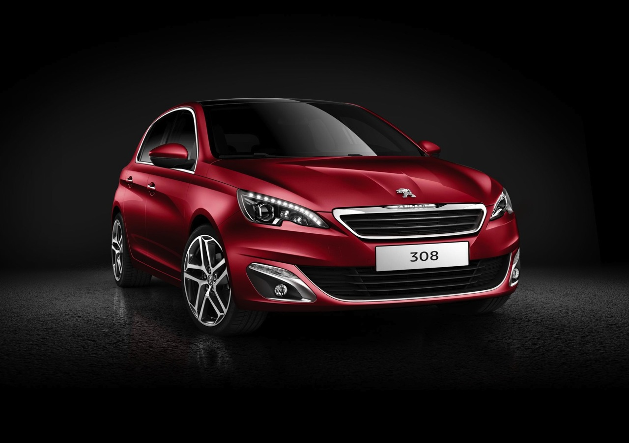 all new 2014 peugeot 308 revealed performancedrive. Black Bedroom Furniture Sets. Home Design Ideas