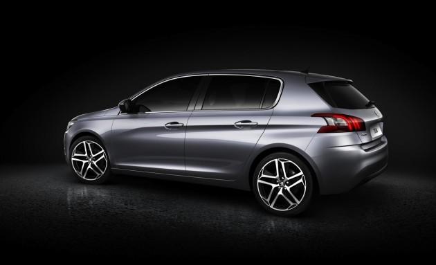 2014 Peugeot 308 side rear