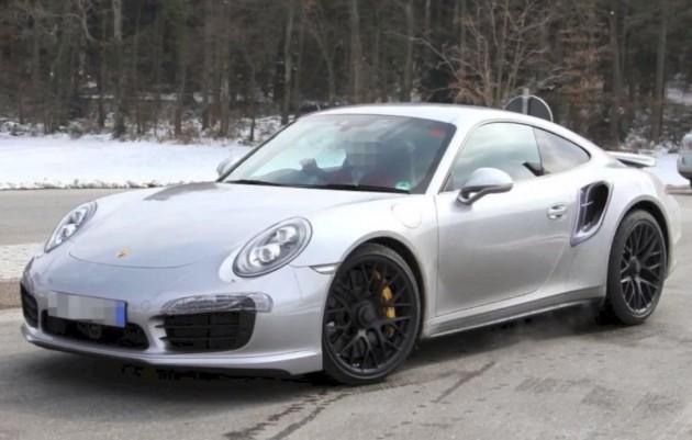 2014 Porsche 911 Turbo prototype front