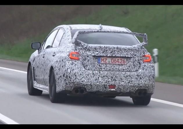 2014 Subaru WRX prototype