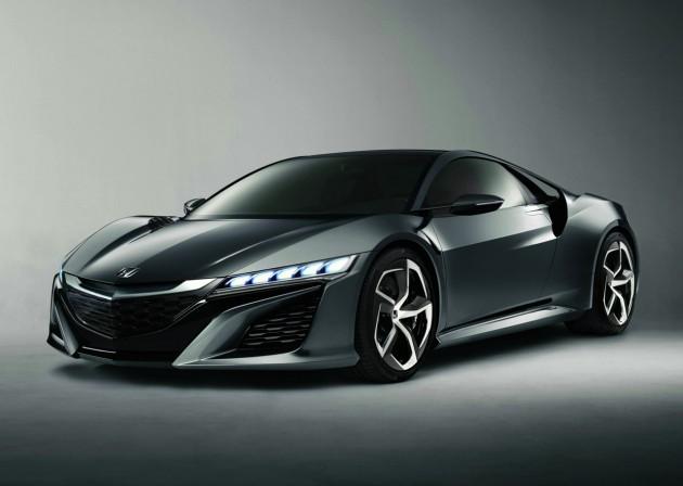 2015 Honda NSX concept front