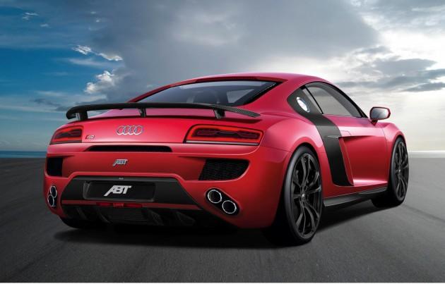 ABT 2013 Audi R8 V10 rear