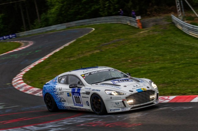 Aston Martin Hybrid Hydrogen Rapide S 2013 Nurburgring 24 Hours