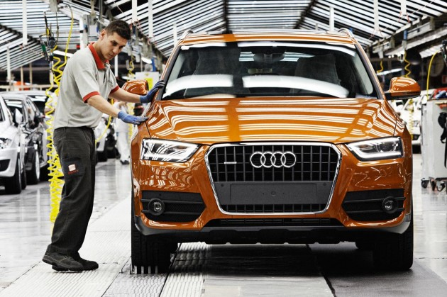 Audi Q3 production