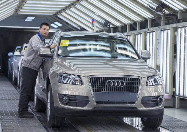 Audi production China