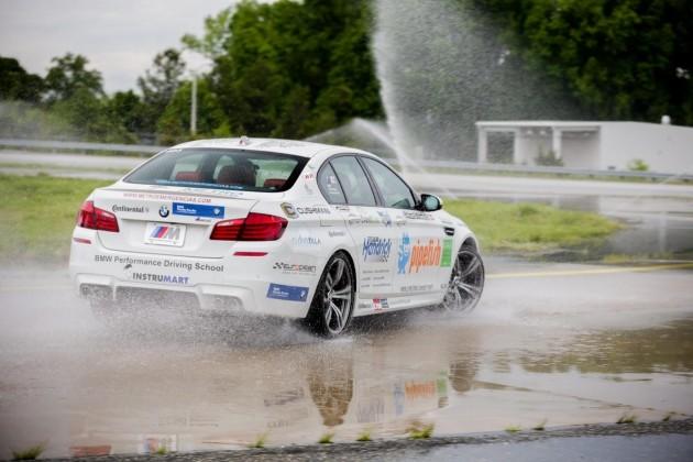 BMW M5 drift world record