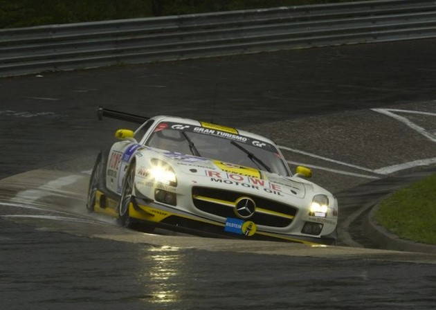 Black Falcon Mercedes-Benz SLS GT3 2013 Nurburgring 24 Hours-1
