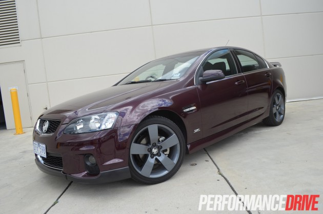 Holden VE Commodore SV6 front