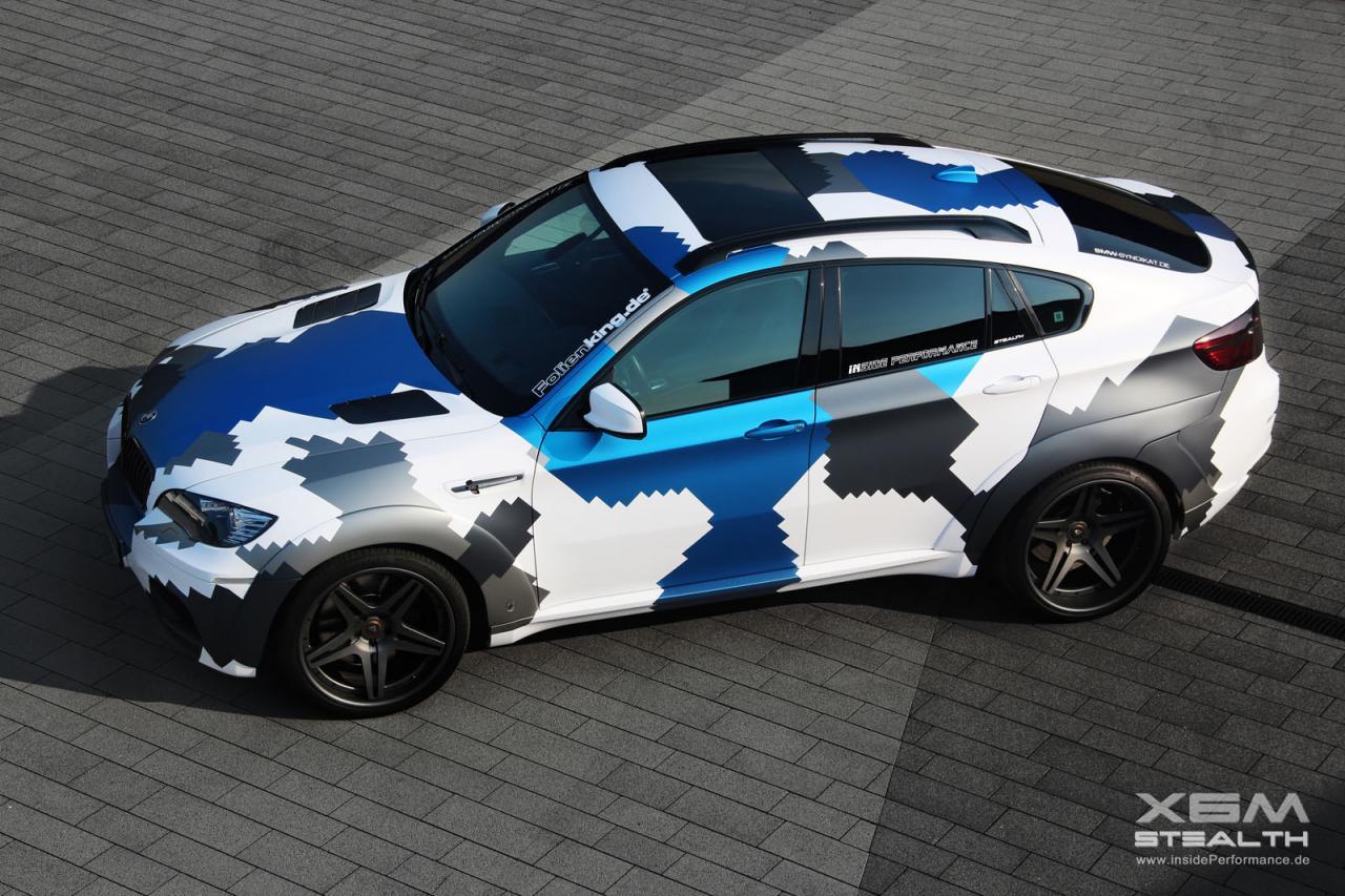Inside Performance Bmw X6 M Stealth Wrap