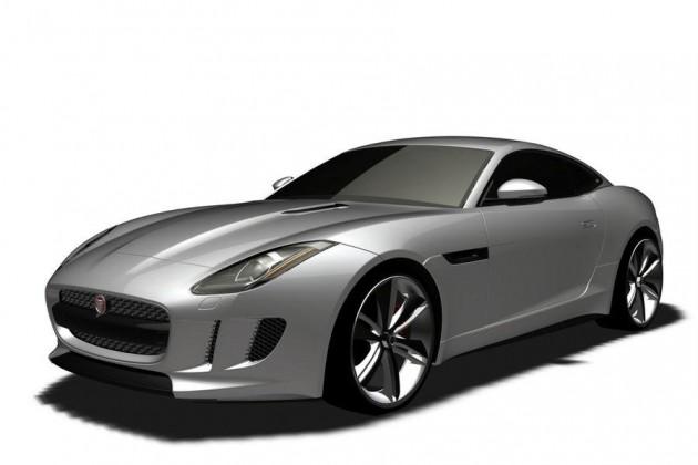 Jaguar F-Type Coupe patent front