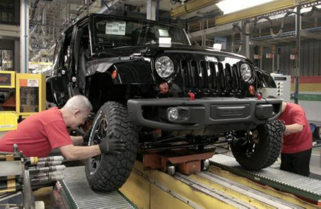 Jeep Wrangler 1,000,000 production