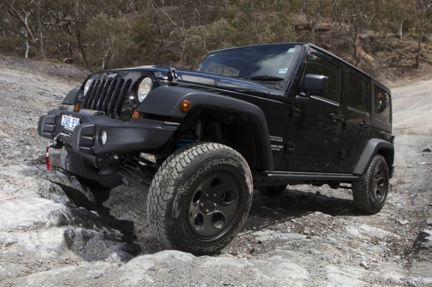 Jeep Wrangler Special Ops Pack