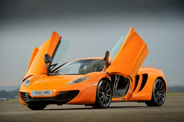 McLaren MP4-12C orange