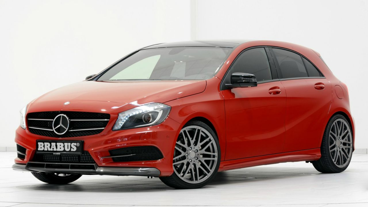 brabus mercedes benz a 250 sport power upgrade performancedrive. Black Bedroom Furniture Sets. Home Design Ideas