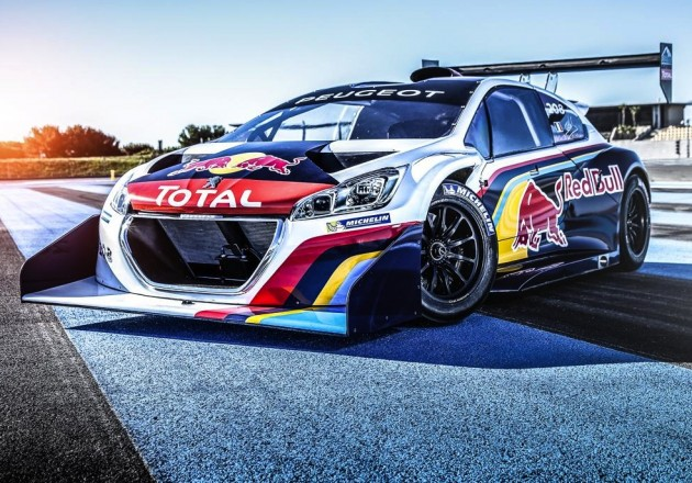 Peugeot 208 T16 Red Bull livery