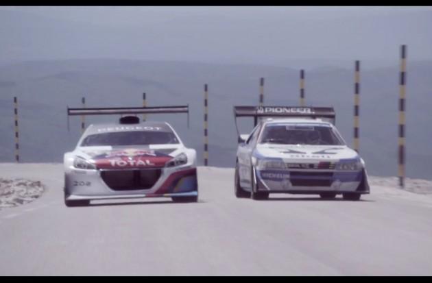 Peugeot 208 T16 and 405 T16-Mont Ventoux