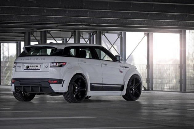 Prior Design Range Rover Evoque PD650 kit-rear
