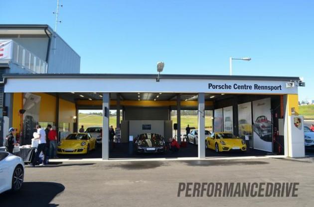 Rennsport Australia-Porsche centre-