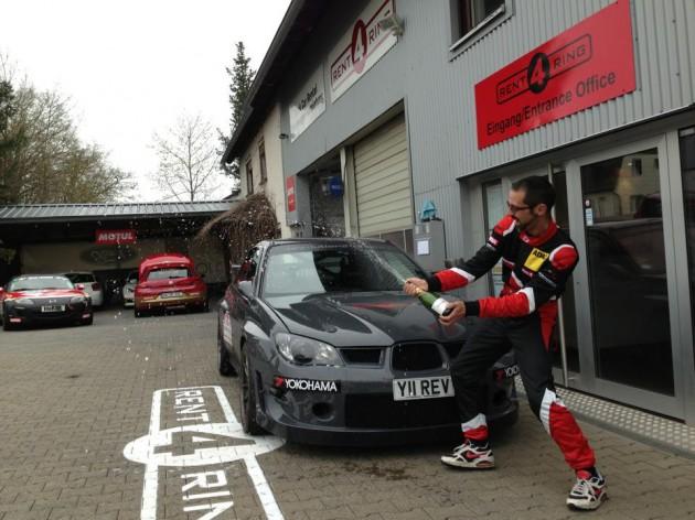 Revolution Motorstore Subaru Impreza WRX STI Nurburgring record