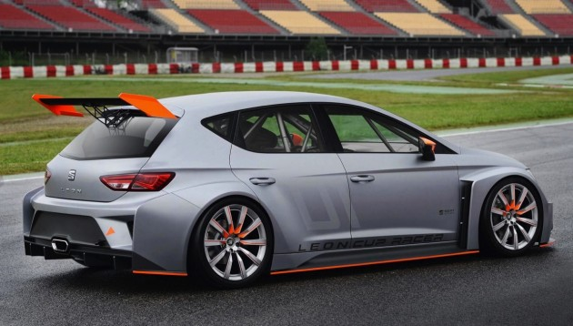 SEAT Leon Cup Racer rear