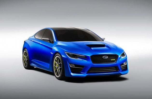 Subaru WRX Concept Australia