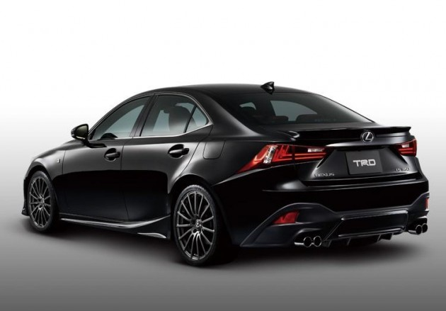 TRD 2014 Lexus IS accessories rear-