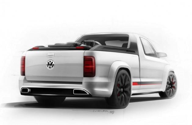 Volkswagen Amarok R-Style concept rear
