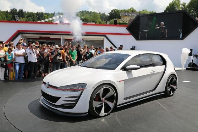 Volkswagen Design Vision GTI concept-front