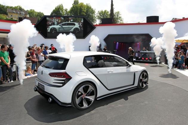 Volkswagen Design Vision GTI concept-rear