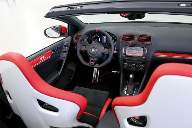 Volkswagen Golf GTI Cabrio Austria concept interior