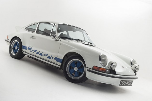 1973 Porsche 911 Carrera 2.7 RS Touring owned by Mavropoulos
