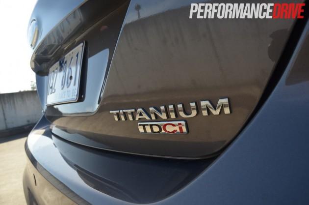 2013 Ford Focus Titanium rear badge