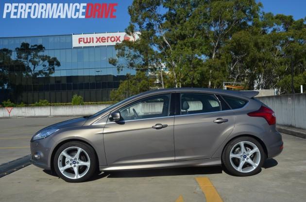 2013 Ford Focus Titanium side